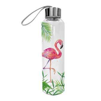 Trinkflasche Tropical Flamingo