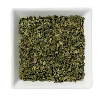 Hanf Tee, geschnitten