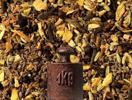 Gewürzteemischung Herb Chai ohne Zusatz von Aroma