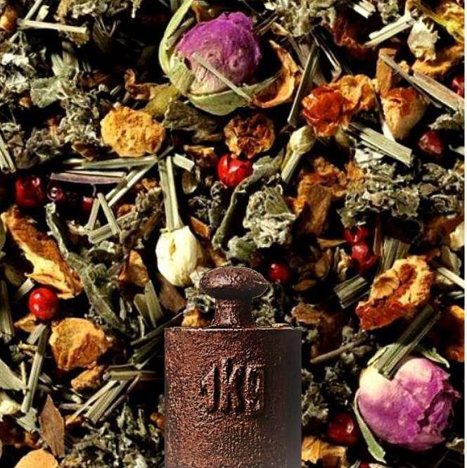 Kräuterteemischung Faulenzer Mischung ohne Zusatz von Aroma